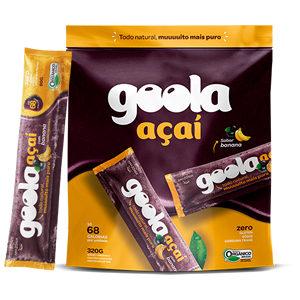 Pack Stick Goola Açaí com Banana 320G  ( 4 X 80G)
